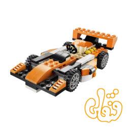 ساختنی لگو 3 مدل ماشین ، کامیون و فرمول یک 3108