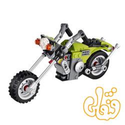 ساختنی لگو 3 مدل موتورسیکلت 3109