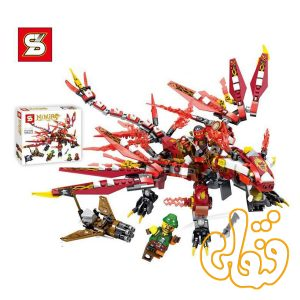 ساختنی لگو اژدها سری نینجاگو 546