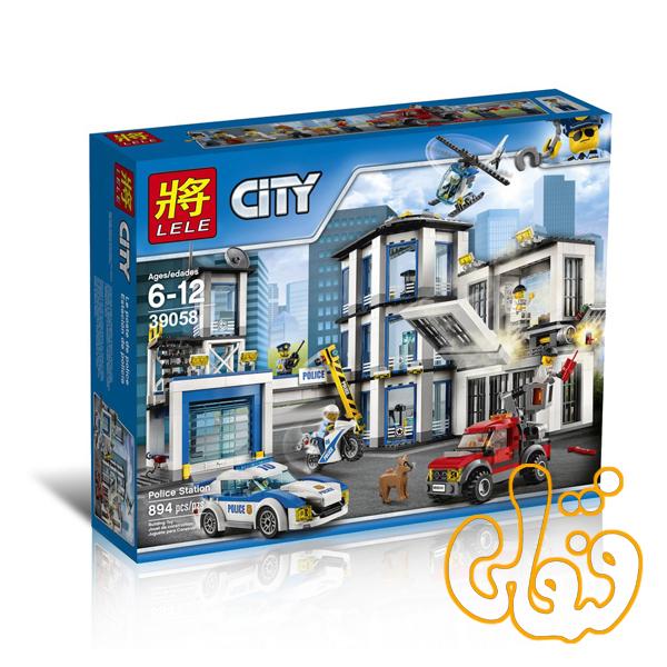 ساختنی لگو پایگاه پلیس سری سیتی 39058