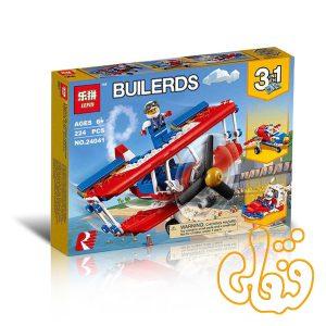 ساختنی لگو 3 مدل ایرکرافت و هواپیما 24041
