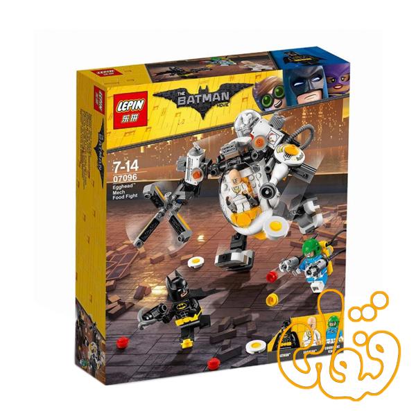 ساختنی لگو روبات مرد تخم مرغی سری بتمن مووی 07096