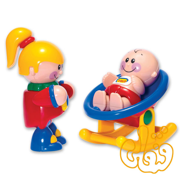 عروسک نوزاد و خواهر تولو My big Sister 89994