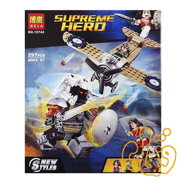 ساختنی لگو هواپیما ابر قهرمان 10744