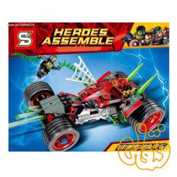 ساختنی لگو ماشین اسپایدرمن 7029