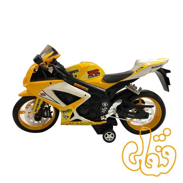 موتور سوزوکی قدرتی درج-زرد