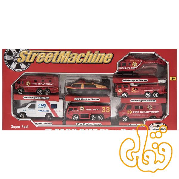 ست ماشین فلزی آتش نشانی 2011