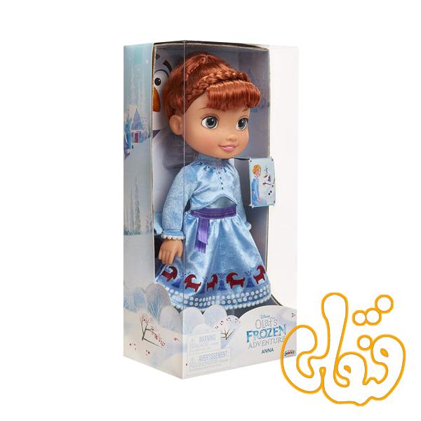 عروسک آنا فروزن Olaf's Frozen Adventure Anna 55083