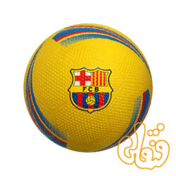 توپ فوتبال فانتزی طرح بارسلونا سایز 4 بتا