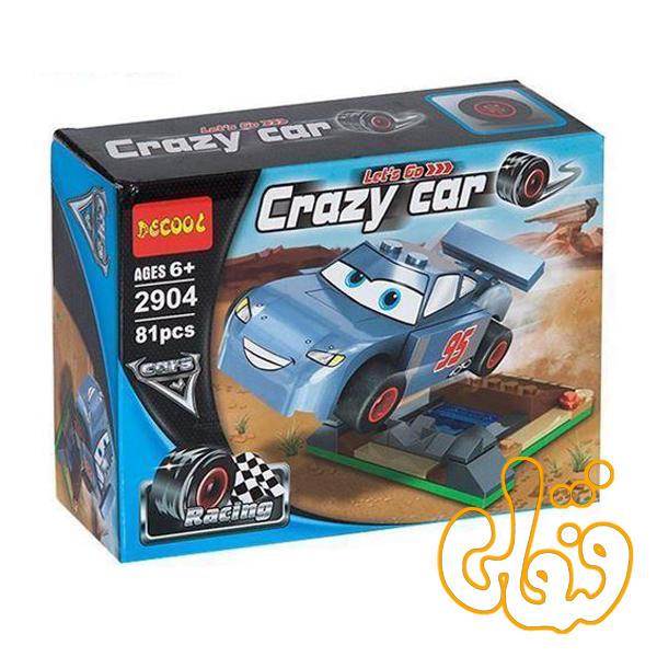 ساختنی لگو ماشینها مکوئین 2904