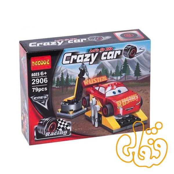 ساختنی لگو ماشینها مکوئین 2906