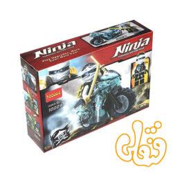 ساختنی لگو نینجاگو با موتور Zane 10029