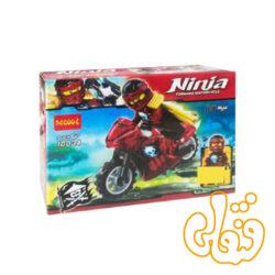 ساختنی لگو نینجاگو با موتور Nya 10034