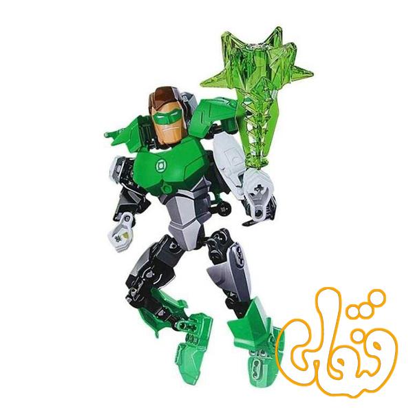 ساختنی لگو گرین لایتر سری ابرقهرمان GREEN LIGHT MAN 6002