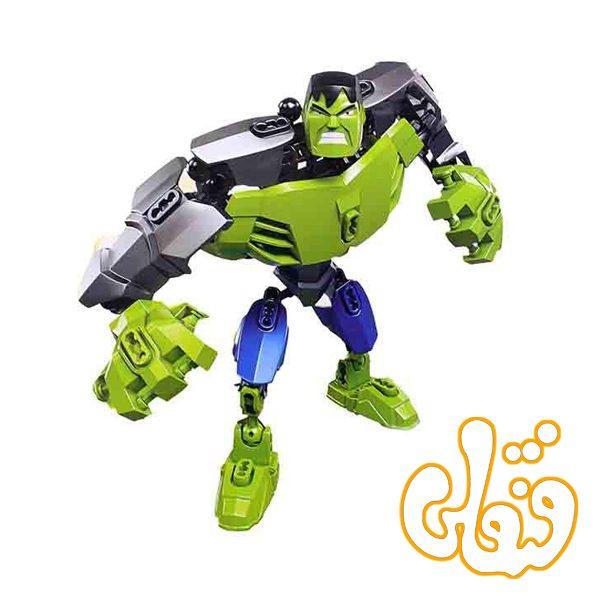 ساختنی لگو هالک سری ابرقهرمان GREEN GIANT 6004