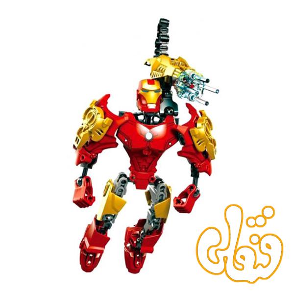 ساختنی لگو مرد آهنی سری ابرقهرمان IRON HERO 6005