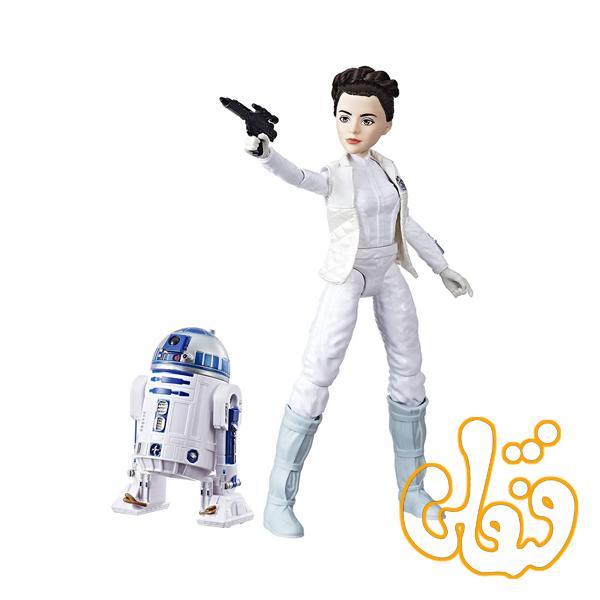 عروسک فیگور جنگ ستارگان PRINCESS LEIA ORGANA & R2-D2 C1629