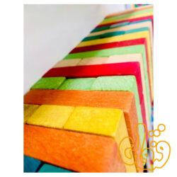 برج هیجان رنگی و معمای سه بعدی