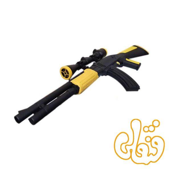 تفنگ مسلسلی کماندو دوربین دار با وسیله