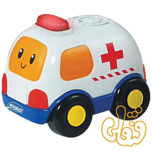 ماشین آمبولانس کوچک وین فان Go Go Drivers 1154