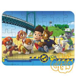 پازل چوبی 35 قطعه شخصیتهای کارتونی سگهای نگهبان