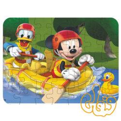 پازل چوبی 35 قطعه شخصیتهای کارتونی میکی موس