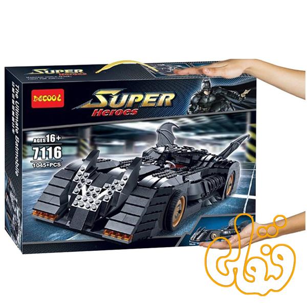ساختنی لگو ماشین بتمن 7116