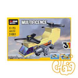 ساختنی لگو 3 مدل هواپیما 31001