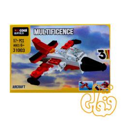 ساختنی لگو 3 مدل هواپیما و ایرکرافت 31003