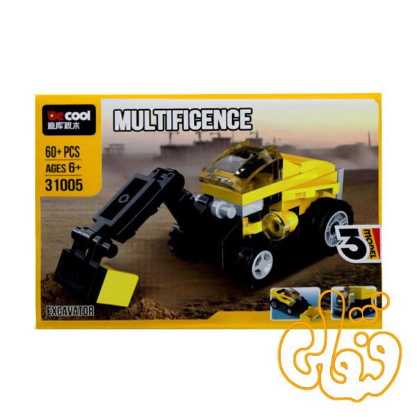 ساختنی لگو 3 مدل ماشین راهسازی 31005