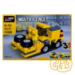ساختنی لگو 3 مدل ماشین 31008