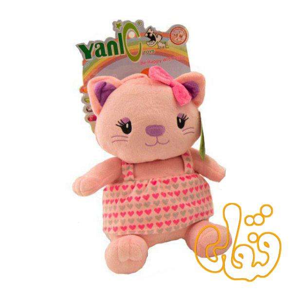 عروسک موزیکال نوزادی گربه یانیک 100146B