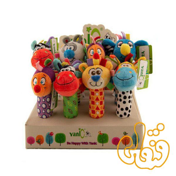 عروسک های دستی سوت سوتی یانیک 100136