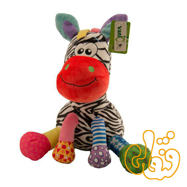 عروسک نوزادی گورخر یانیک 100142