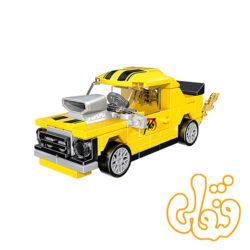ساختنی لگو ماشین زرد 22022