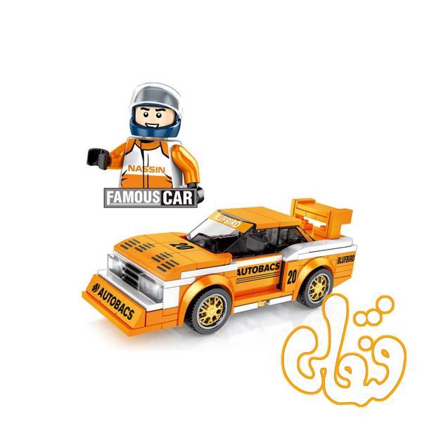 ساختنی لگو ماشین نارنجی 607061