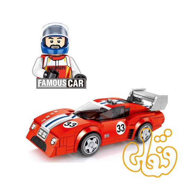 ساختنی لگو ماشین قرمز 607063