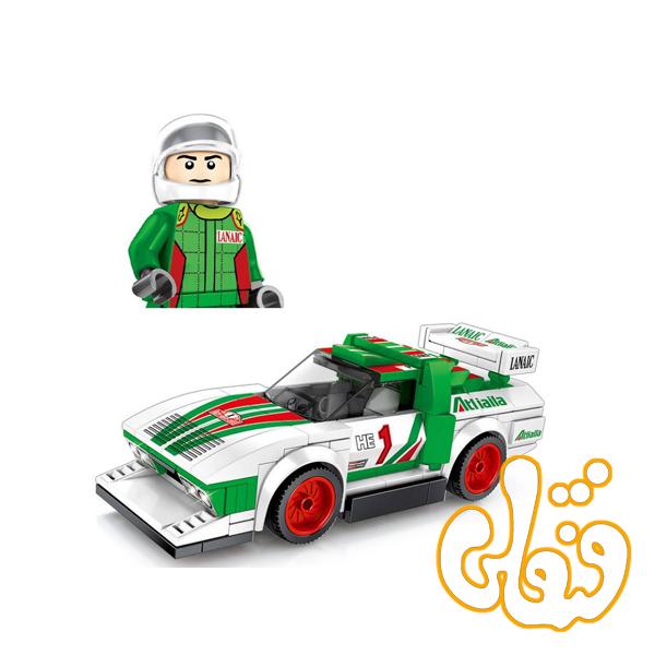 ساختنی لگو ماشین سبز 607064