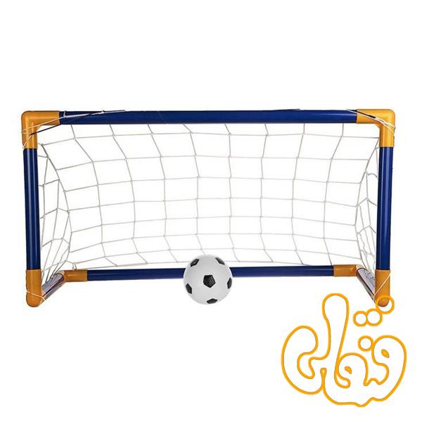 تیر دروازه فوتبال طلایی 2 تایی 591113
