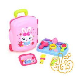 ست چمدان آرایشی قابل حمل هولی تویز 3109