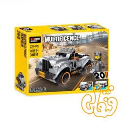 ساختنی لگو 20 مدل ماشین 31019