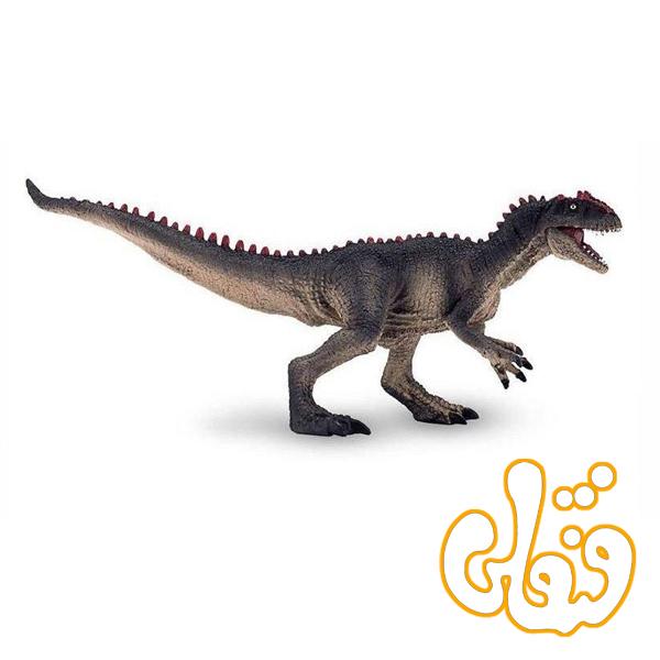 دایناسور آلوسور با فک متحرک Allosaurus with articulated jaw 387383