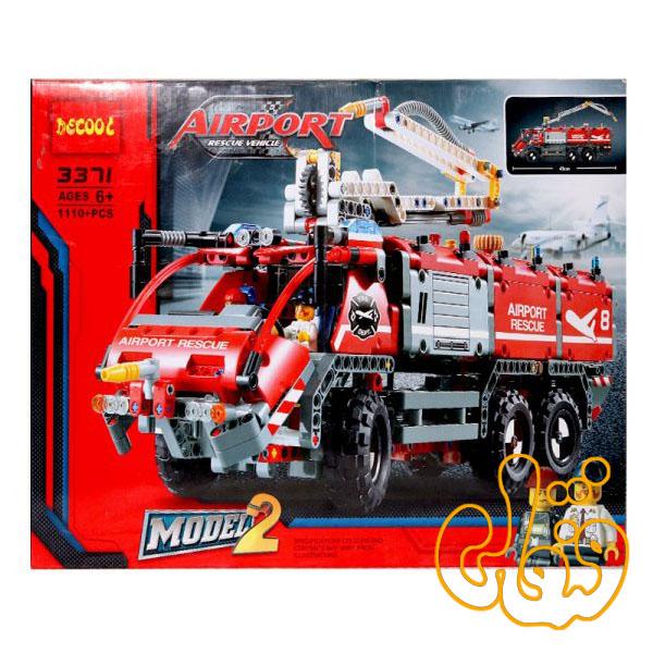 ساختنی لگو ماشین آتش نشانی فرودگاه 3371