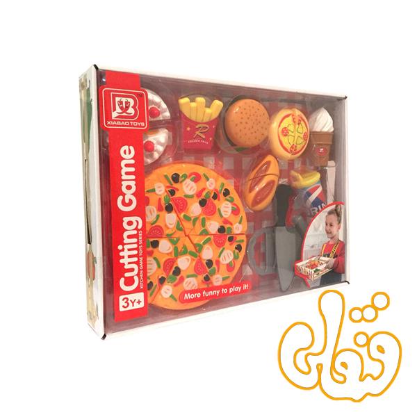 ست پیتزا و فست فود برشی 2289