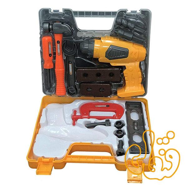 ست ابزار با دریل باطری خور 36778-80