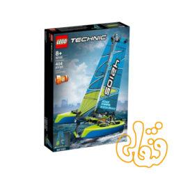 ساختنی لگو تکنیک قایق کاتاماران Lego Technic Catamaran 42105