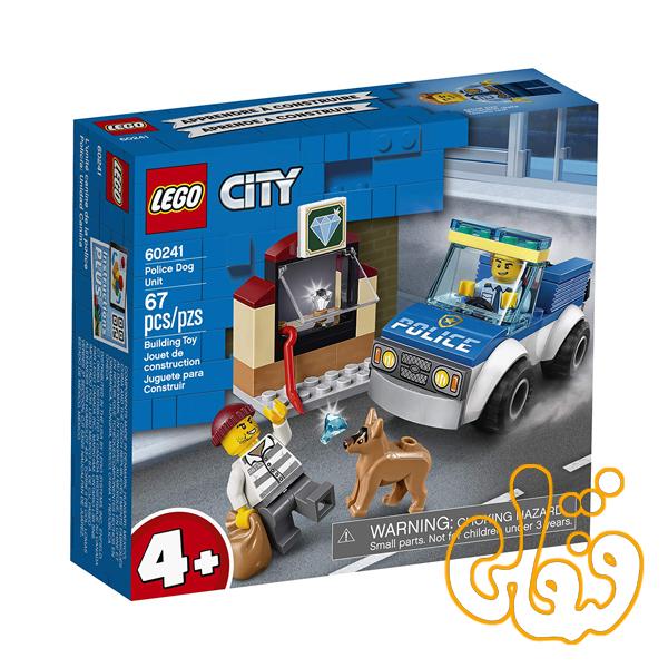 ساختنی لگو سیتی عملیات سگ پلیس Lego City Police Dog Unit 60241