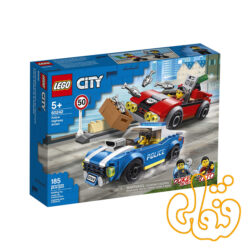 ساختنی لگو سیتی توقیف پلیس بزرگراه Lego City Police Highway Arrest 60242