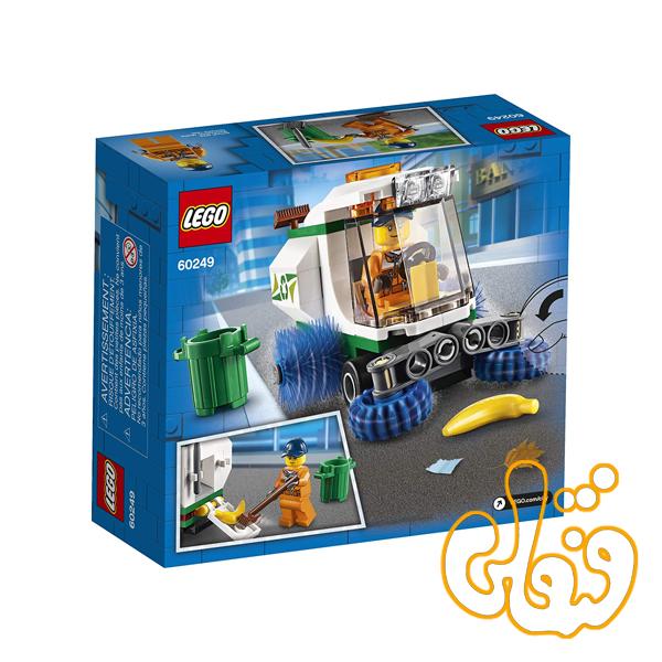 ساختنی لگو سیتی ماشین نظافت شهرداری Lego City Street Sweeper 60249