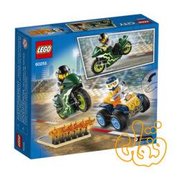 ساختنی لگو سیتی گروه بدلکاری Lego City Stunt Team 60255